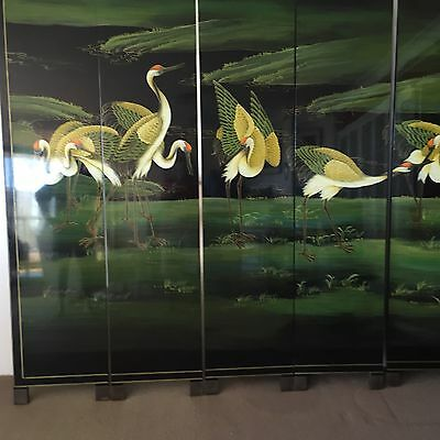 Room Divider Stunning 6 Panels Oriental Style