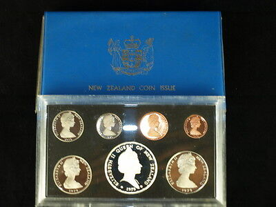 New Zealand Coin Issue 1979 Decimal Currency 7 Coin Proof Year Set