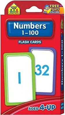 Kids Learning Numbers Educational Games Toys Childs Flash Cards Numbers 1 - 100