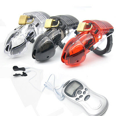 Amazing Price Electro Male Chastity Device Cuff Ring NEW A175