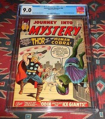 Journey into Mystery 98 CGC 9.0 Nicely Centered Early Thor