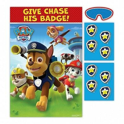 Paw Patrol Pin Tail on The Donkey Style Kids/Childrens Birthday Party Game