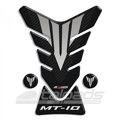 Tank Pad for Yamaha MT-10 Black/carbon look + 2 For free!!