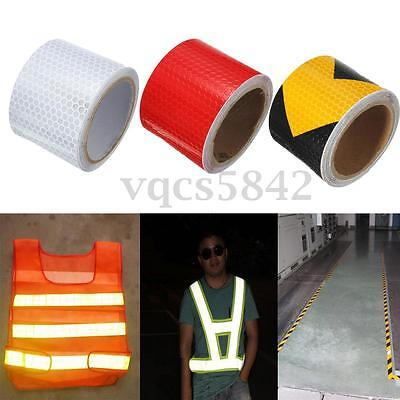 2''X10' Emergency Night Reflective Safety Warning Conspicuity Tape Strip Sticker