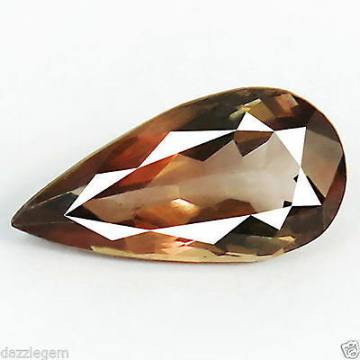 5.23ct DAZZLING NATURAL EARTH MINED UNIQUE RARE COLOR CHANGE AXINITE REFER VIDEO