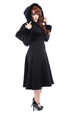 Collectif Vintage Anoushka Princess Coat & Cape