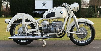 1967 BMW R-Series  BMW R60/2  600cc rare boxer in white real german quality year 1967