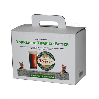 York Brewery Home Brew Beer Making Refill Extract Kit YORKSHIRE TERRIER BITTER