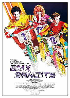 BMX Bandits (1983) - A1/A2 POSTER **BUY ANY 2 AND GET 1 FREE OFFER**