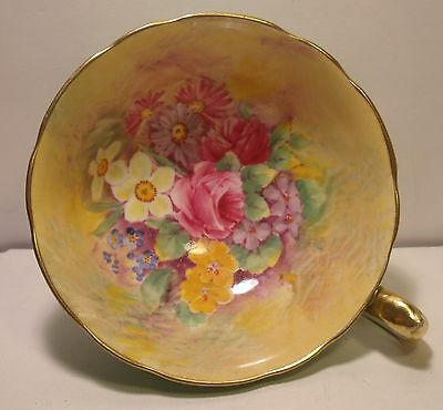 Stunning Paragon Hand Painted Floral Cup (Only)