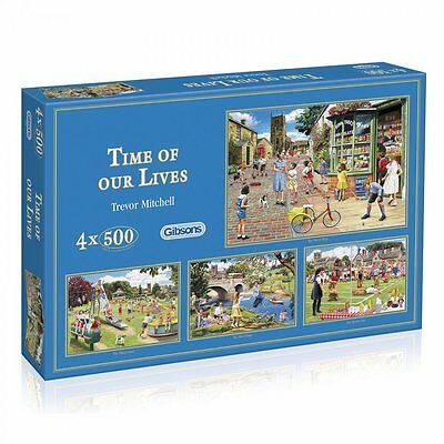 Gibsons Time of our Lives - 4 x 500 Piece Puzzle