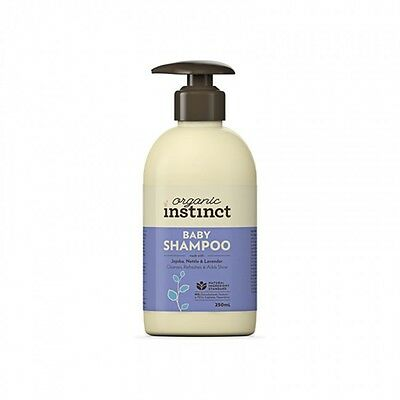 Natural Instinct baby shampoo (250ml x 2 included in this pack)