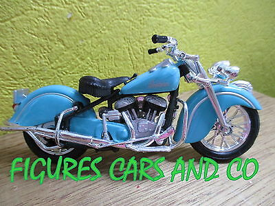 Moto 1/18 Indian Big Chief Turquoise