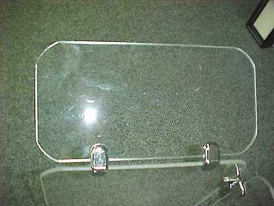 Acrylic Deflector Shields with 2 Connectors / Drum Shields