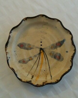 sally dawson studio pottery dish in excellent condition