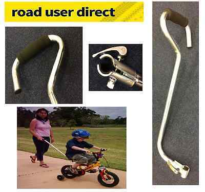 Parental Control Handle For Childrens Bikes - Universal Fit - Trackable Courier