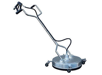 "20"" Stainless Steel Professional Rotary Flat Surface Cleaner Similar Whirlaway."