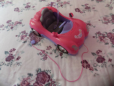 Zapf Baby Born Dolls Car with Key ``lights and sounds``