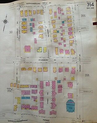 1925 Sanborn Squirrel Hill N Tree Of Life Synagogue Pittsburgh Pa Atlas Maps