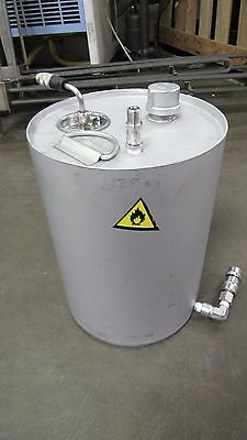 No Name Stainless S/s 3 Gal Gallon 11 Liter Liquid Tank Pressure Paint Pot
