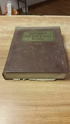 Buick & Others 1955, Flat Rate & Parts Manual, In Good Shape !