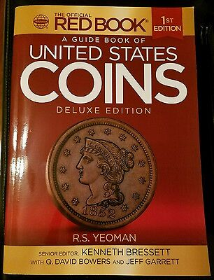 2016 Red Book Guide Book of United States Coins Deluxe 1st Edition YEOMAN Mega