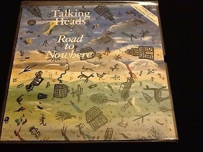 """TALKING HEADS Road To Nowhere  12"""" VINYL UK  1985 4 Track Limited"""