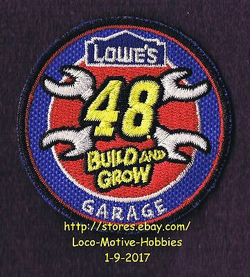 LMH PATCH Badge  2009 GARAGE Race Car Racecar 48 Tools  LOWES Build Grow Wrench