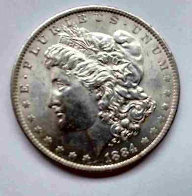 MORGAN SILVER DOLLAR  1884o(306)