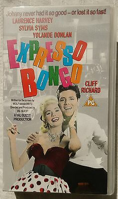 """VHS Cliff Richard in """"Expresso Bongo"""""""