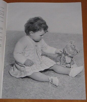Rare  Vintage Ladyship  Baby Knitting Pattern Booklet. 26 Pages.