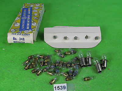 electric bulbs lamps possible use dolls house / model railway 1539