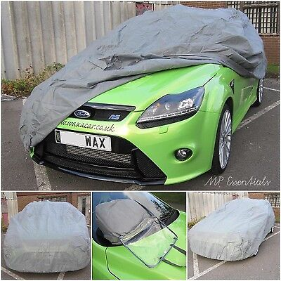 Breathable & Water Resistant Outdoor & Indoor Full Car Cover for Fiat 500 Abarth