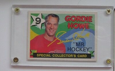 1971-72 Opc #262 Gordie Howe Special Collector's Card
