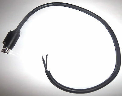 Laptop Plasma Tft Lcd 4 Pin 12V Dc Kycon Din Plug With Lead