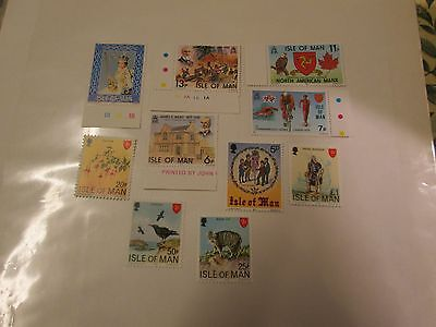 10 x isle of man stamps mint