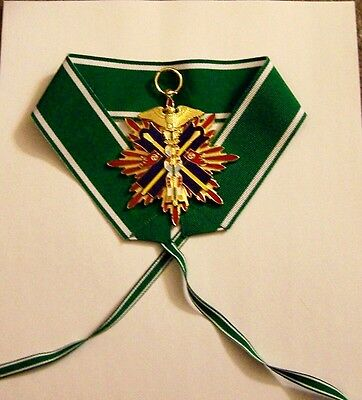 Japan JAPANESE Nippon GOLDEN KITE MEDAL ARMY NAVY War Battle BADGE Officer Order