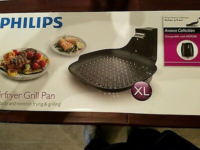 Philips AirFryer Grill Pan HD9910 NonStick New Genuine