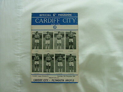 Cardiff v Plymouth  64-65