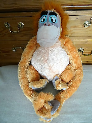 Disney Store King Louie 17ins soft toy plush The Jungle Book