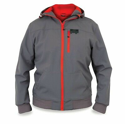 FOX Rage Softshell Grey / Red Jacke Gr. L Softshelljacke Angeljacke