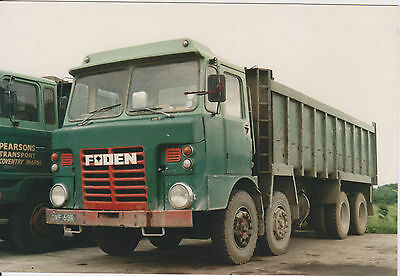 Photo Foden Tipper, Pearsons, Coventry, OWF 63R