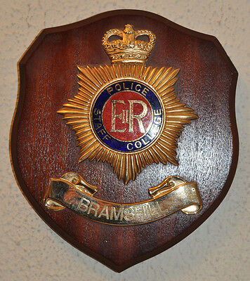Police Staff College Bramshill plaque crest shield Constabulary