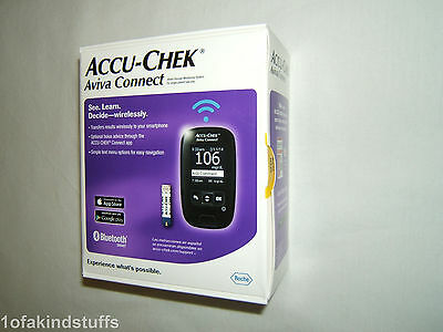 Brand New Sealed! Accu-Chek Aviva Connect Blood Glucose Meter Strips Exp 04/18!!