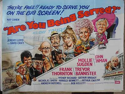 ARE YOU BEING SERVED '77-Rare British Quad poster
