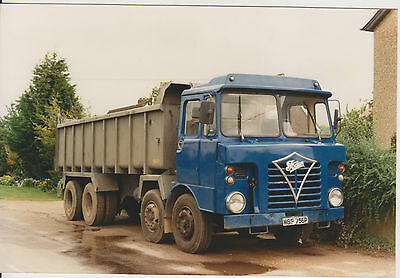 Photo Foden Tipper, No company name,  MSF 756P