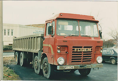 Photo Foden Tipper, No company name,  EPT 774S