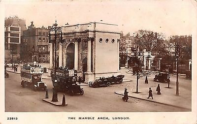 POSTCARD    LONDON   The  Marble  Arch