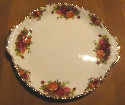 Royal Albert - Old Country Roses Round Sandwich Plate Serving Dish 10 1/4""