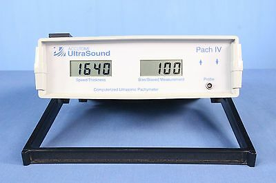 Accutome UltraSound Pach IV 4 Ophthalmic Pachymeter with Warranty